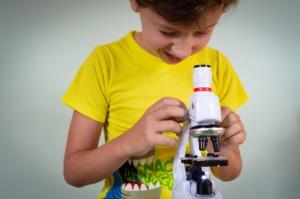 Study Microscope Kids Lesson  - Victoria_Borodinova / Pixabay