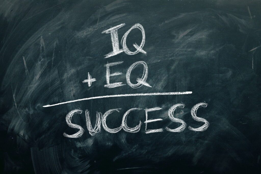 Success Chalkboard Concept Eq Iq  - geralt / Pixabay