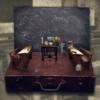 Suitcase School Benches Board  - Darkmoon_Art / Pixabay