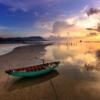 Sunset Boat Beach Fishing Boat  - Quangpraha / Pixabay