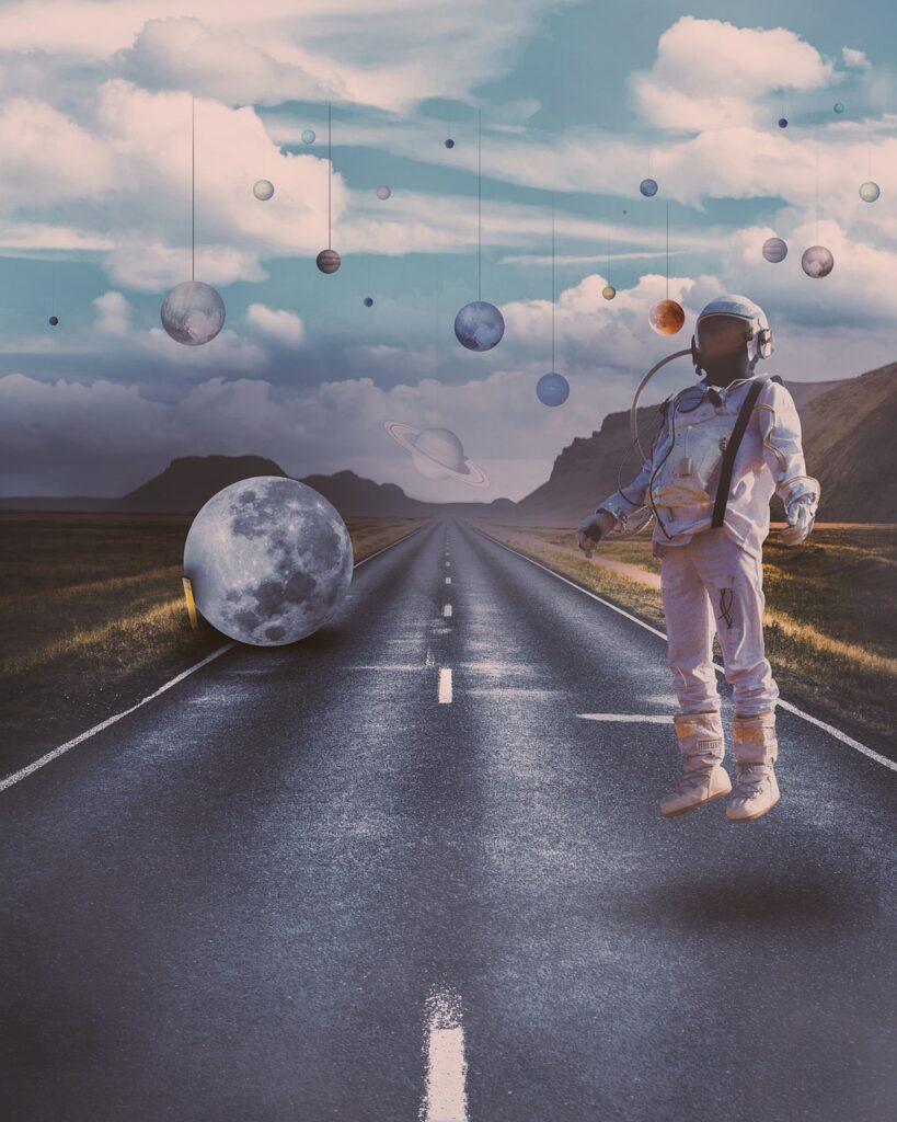 Surreal Manipulation Fantasy Space  - emirotti / Pixabay