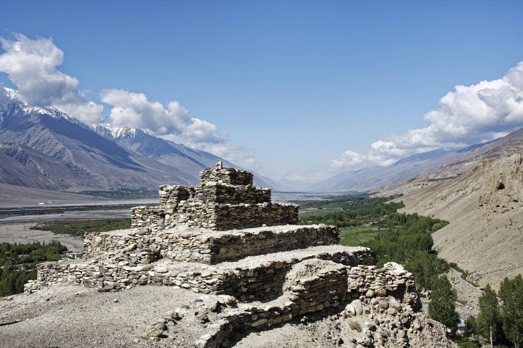 Tajikistan Buddhist Stupa Stupa  - Makalu / Pixabay