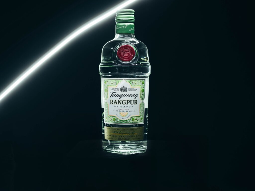 Tanqueray Gin Bottle Liquor  - tomkor / Pixabay