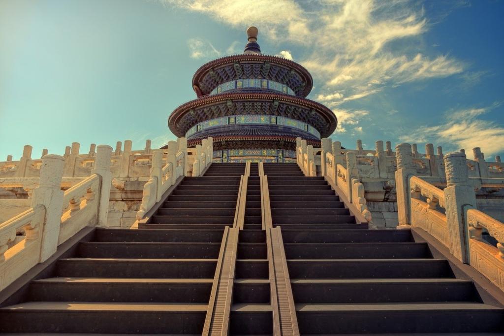 Temple Of Heaven Beijing Stairs  - jplenio / Pixabay
