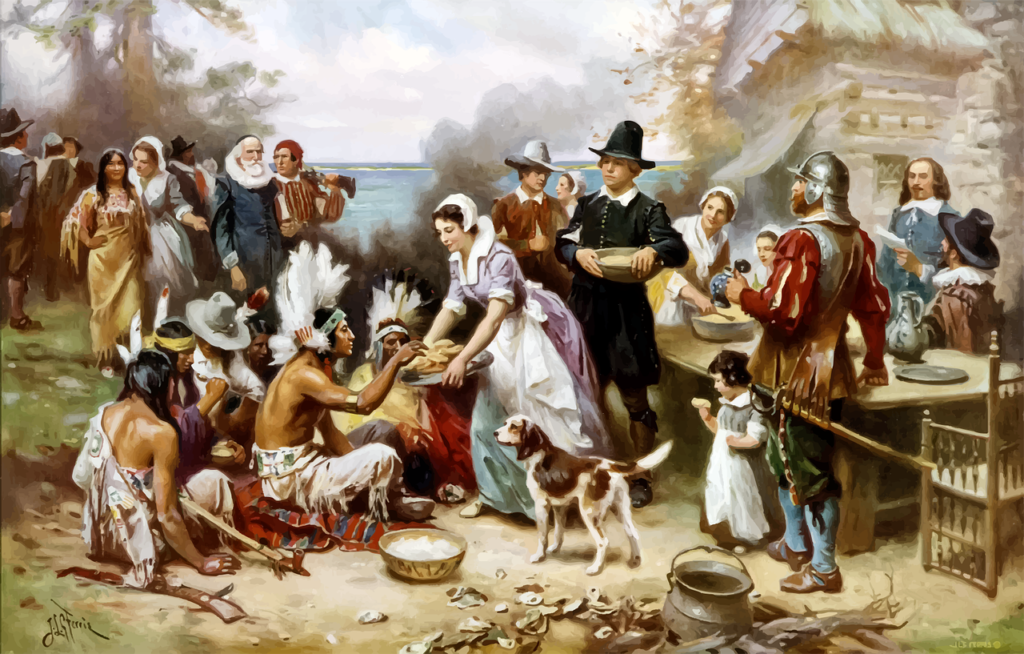 Thanksgiving Feast Painting  - GDJ / Pixabay