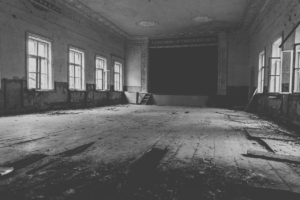 Theatre Chernobyl Abandoned Ukraine  - victoraf / Pixabay