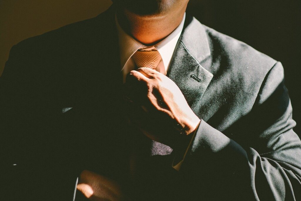 Tie Necktie Adjust Adjusting Man  - Free-Photos / Pixabay