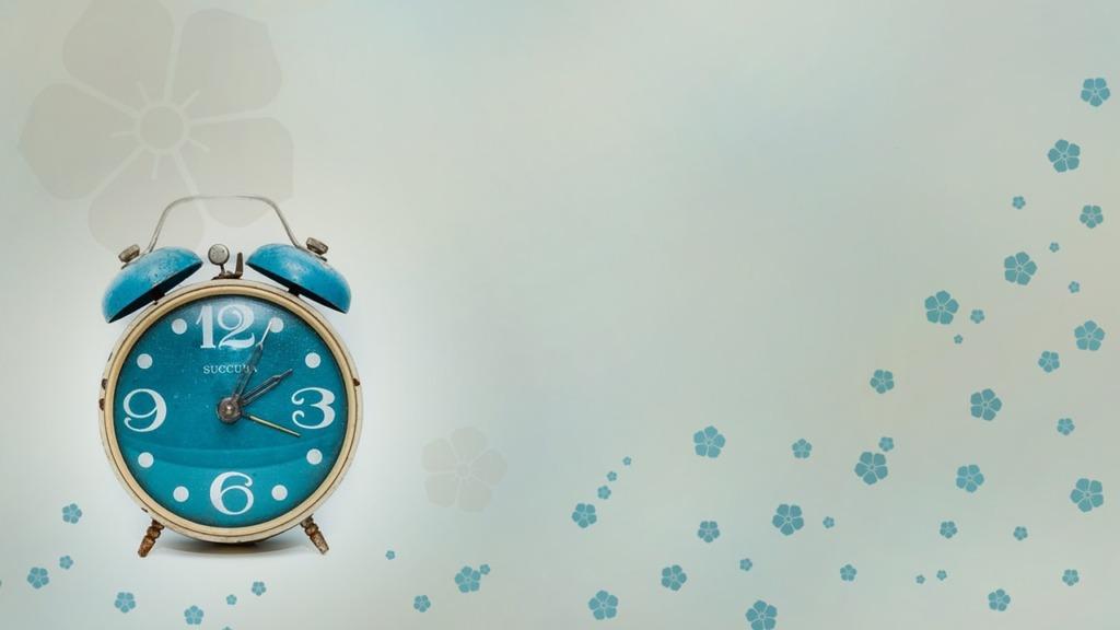 Time Clock Alarm Clock Reminder  - chenspec / Pixabay
