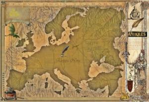 Travel Map Voyage Adventure  - RoySnyder / Pixabay