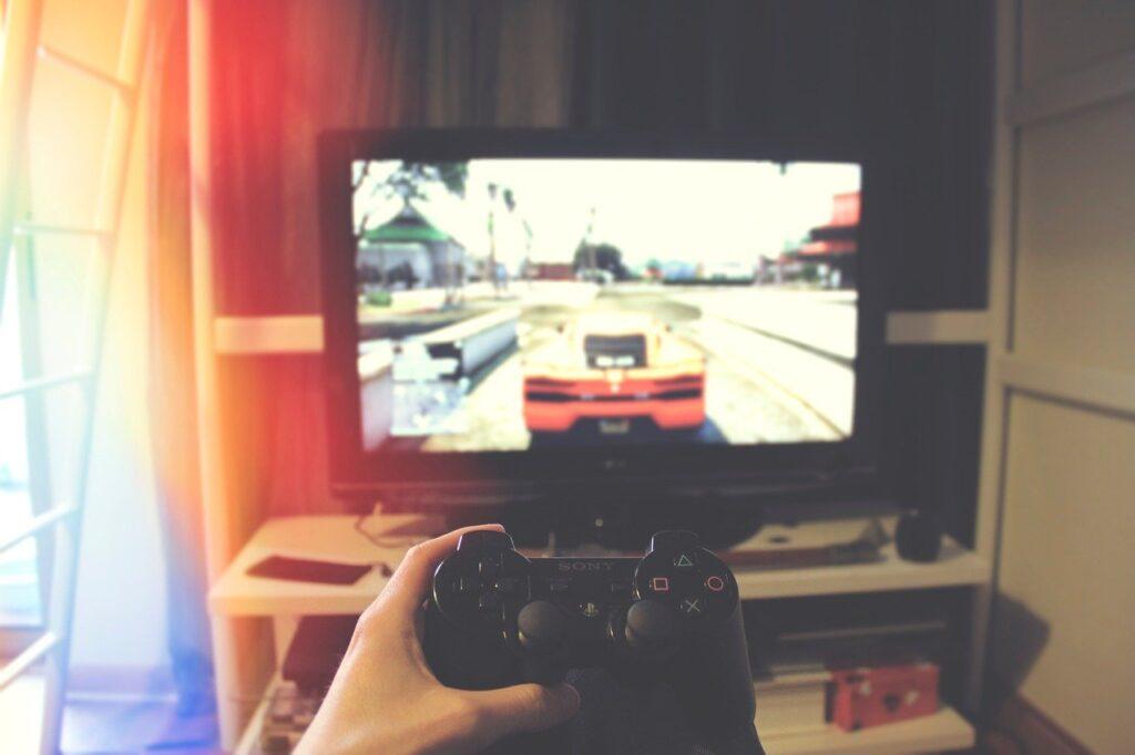 Tv Monitor Screen Playstation  - StockSnap / Pixabay
