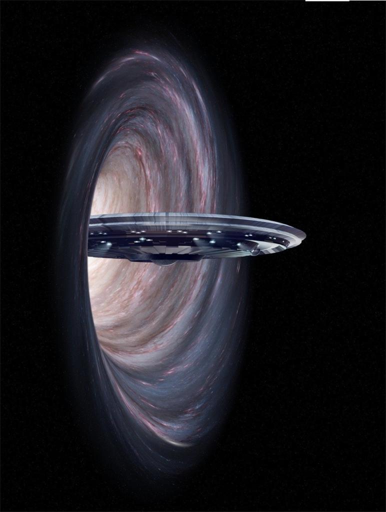 Ufo Wormhole Space Fantasy  - flutie8211 / Pixabay