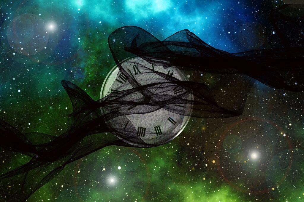 Universe Band Particles Clock Time  - geralt / Pixabay