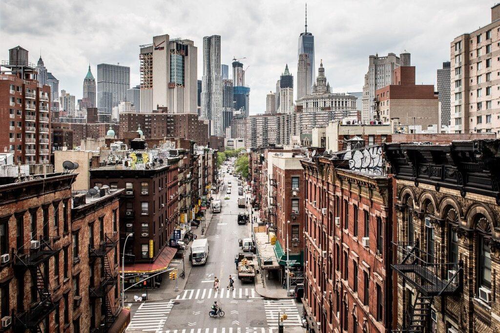 Usa Manhattan Contrasts New York  - wiggijo / Pixabay