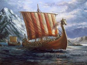 Viking Ship Drakkar Sailing  - wolvie_74 / Pixabay