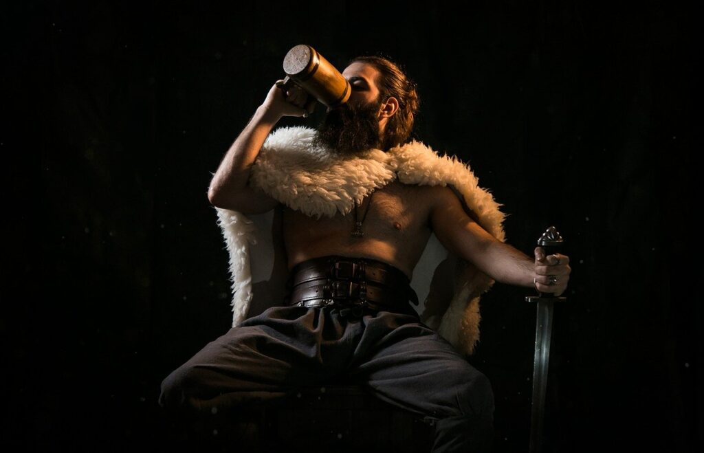 Viking Warrior Vikings Sword  - GioeleFazzeri / Pixabay