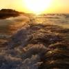 Waves Sunset Sea Beach Nature  - ykaiavu / Pixabay