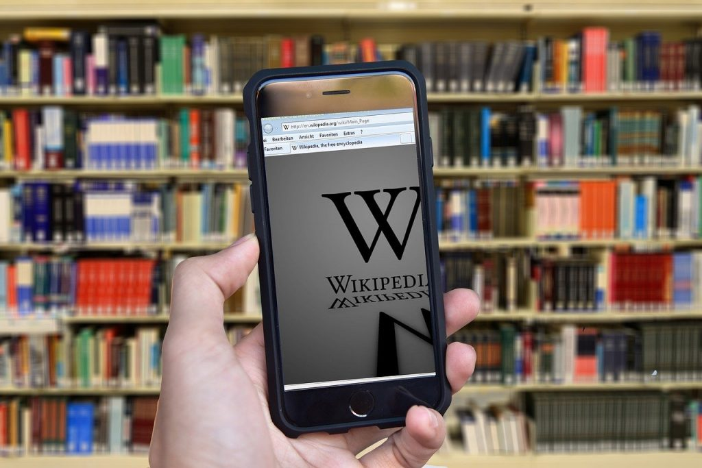 Wikipedia Books Encyclopedia  - geralt / Pixabay