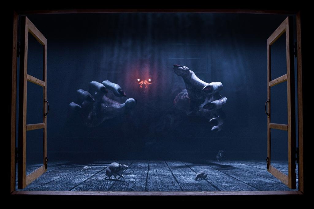 Window Devil Horror Dark Ghost  - Infinite-Creations / Pixabay