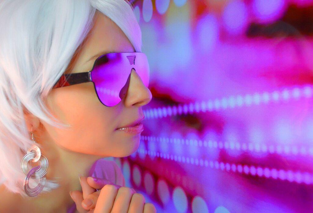 Woman Glasses Model Female Person  - Victoria_Borodinova / Pixabay