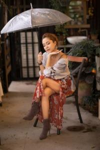 Woman Model Umbrella Beauty  - nguyenhonstudio / Pixabay