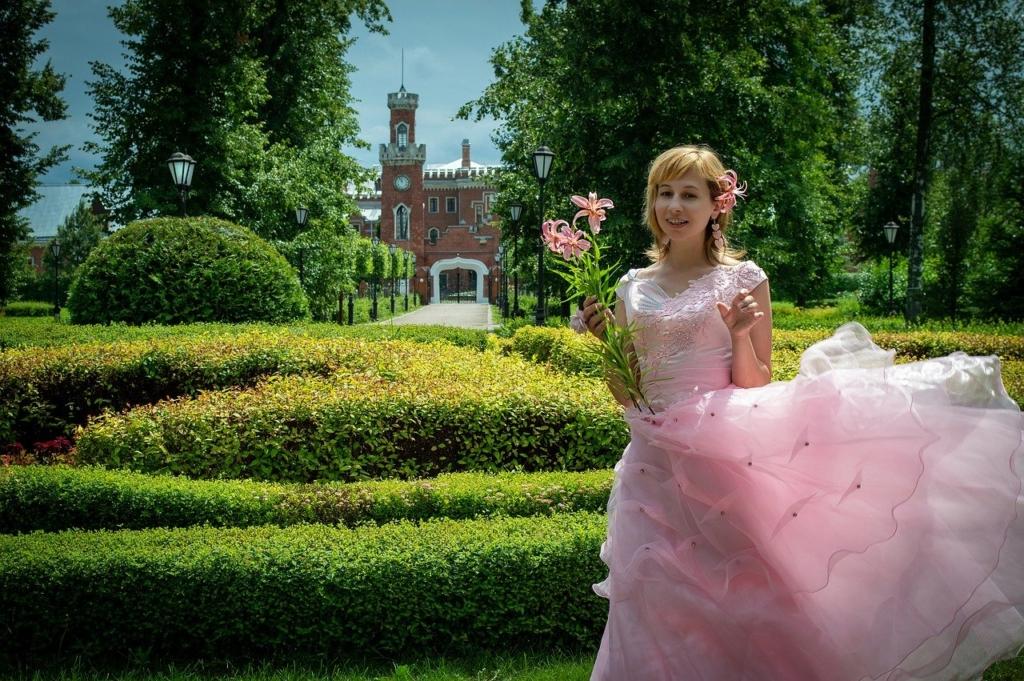 Woman Pink Dress Bride  - Victoria_Borodinova / Pixabay