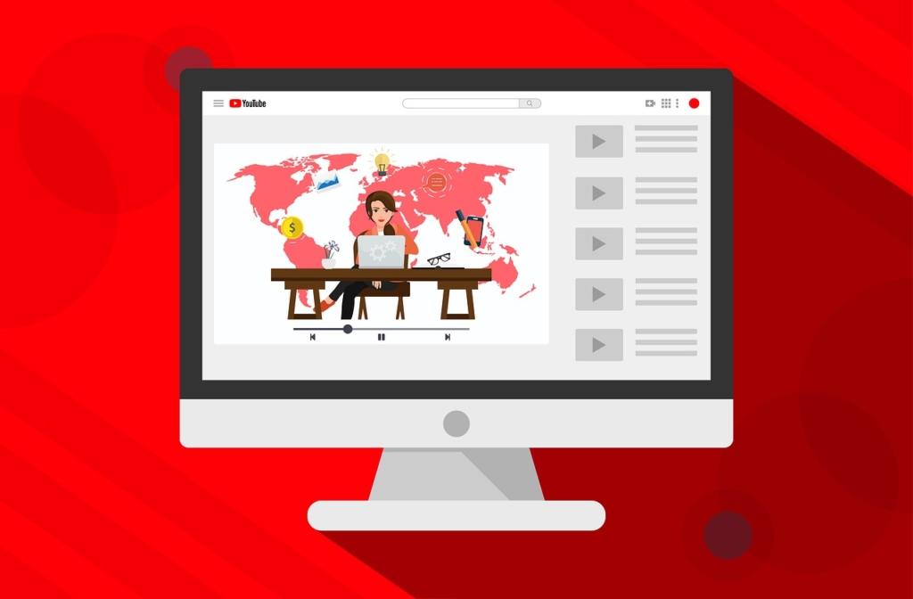 Youtube Computer Media Video  - kreatikar / Pixabay